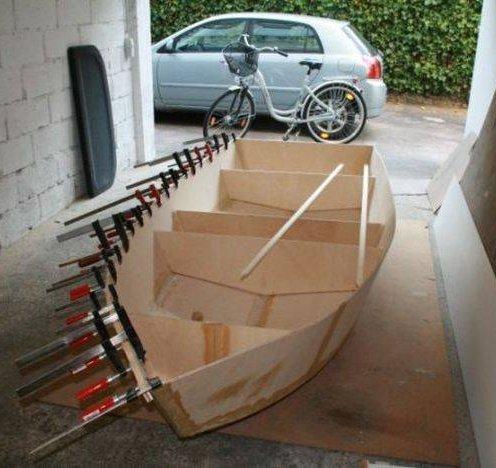 Как сделать лодку своими