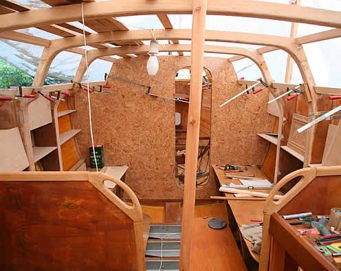 самостоятельная постройка яхты
